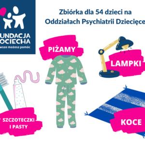 Otulmy oddziały psychiatrii dziecięcej
